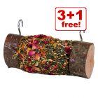 Mr Woodfield Roll 'n' Fun Nibble Log - 3 + 1 Free!*