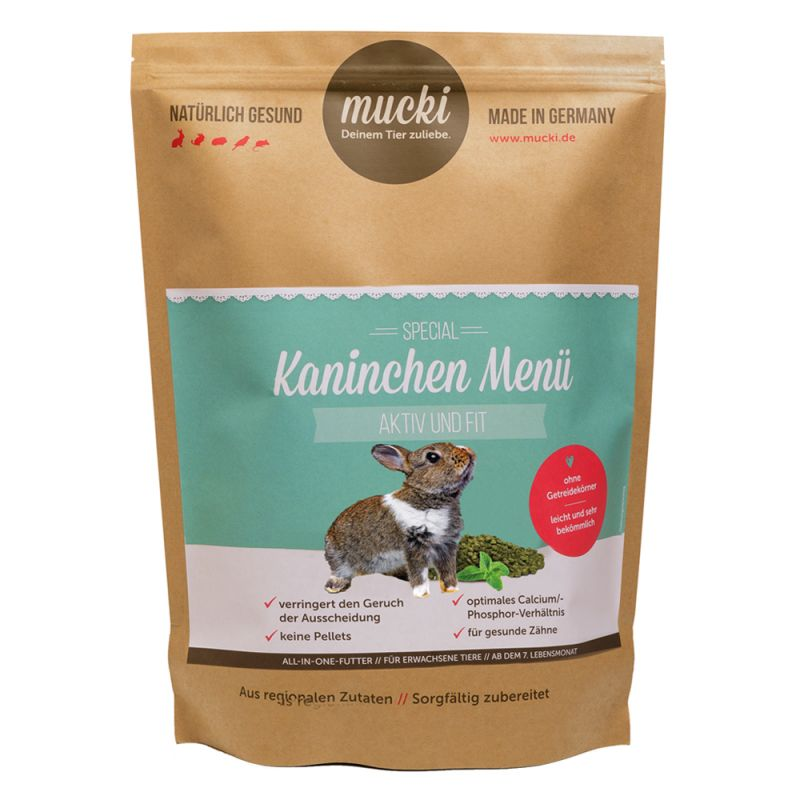 Mucki Active & Fit Rabbit Food