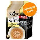 Multi pakiranje Sheba Classic Soup vrećice 4 x 40 g