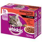 Multi pakiranje Whiskas 1+ Adult vrečke 12 x 100 g