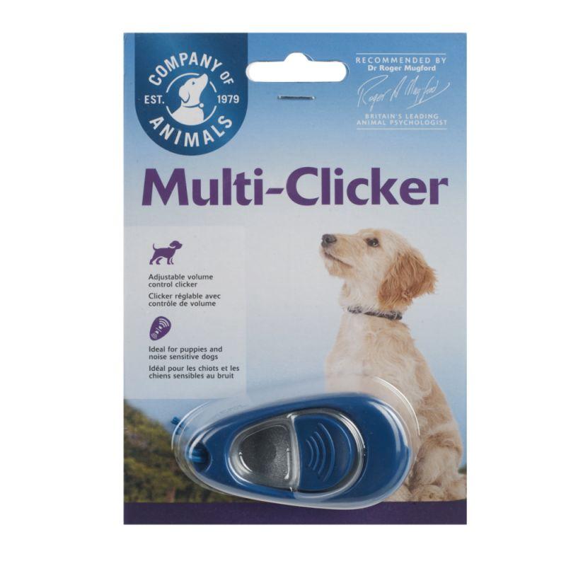 Multi-clicker pour chien, chat et cheval