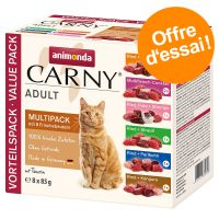 Multipack Animonda Carny 8 x 85 g pour chat