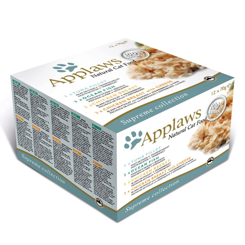 Multipack Applaws Adult Conserve 12 x 70 g