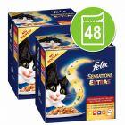 """Multipack Felix """"Sensations Extra"""" 48 x 100 g"""