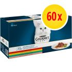 Multipack Gourmet Perle Finas Láminas en sobres para gatos 60 x 85 g