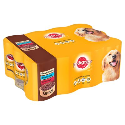 Multipack Pedigree Adult Selection 12 x 400 g pour chien