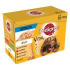 Multipack Pedigree Senior bolsitas en gelatina para perros