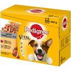 Multipack Pedigree Vital Protection Patè Pollo e Manzo