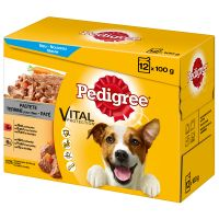 Multipack Pedigree Vital Protection Patè Pollo e Manzo