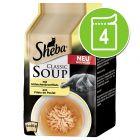 Multipack Sheba Classic Soup Pliculețe 4 x 40 g
