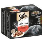 Multipack Sheba Varietäten Frischebeutel 12 x 85 g