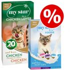 My Star is a Chicken Lover Wet Food + Milky Cups Pack - Bundle Price!*