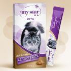 My Star Creamy Snack 8 x 15 g para gatos