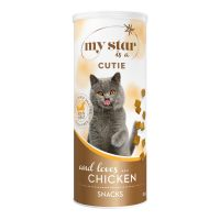 My Star is a Cutie Snacks liofilizados con pollo para gatos
