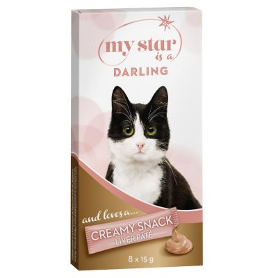 My Star is a Darling Creamy Snack con hígado para gatos