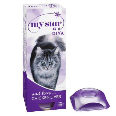 My Star is a Diva foie de poulet pour chat
