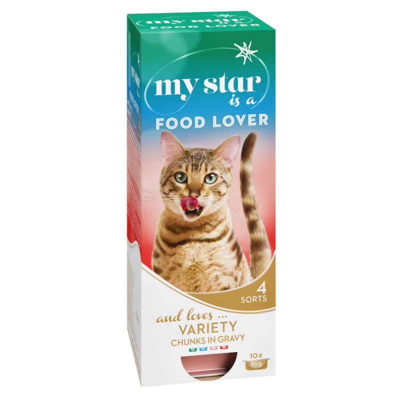 My Star is a Food Lover Chunks in Gravy – Mixed Pack