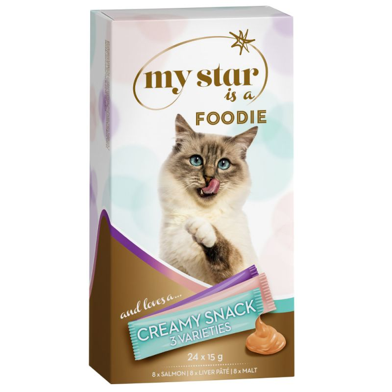 My Star is a Foodie Creamy Snack - Mixed Pack