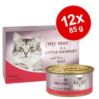 My Star is a little Gourmet Mousse 12 x 85 g pour chat