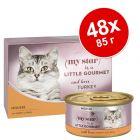 Икономична опаковка My Star Mousse  Gourmet консерви 48 x 85 г