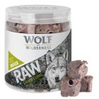 Nå til prøvepris! Wolf of Wilderness  RAW - Frysetørket premiumsnacks