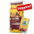 Nagytasakos Josera, JosiDog kutyatáp + Barkoo Dental medium snack ingyen!