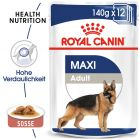 Nassfutter als Ergänzung zu Royal Canin Maxi Adult