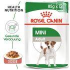 Nassfutter als Ergänzung zu Royal Canin Mini Adult