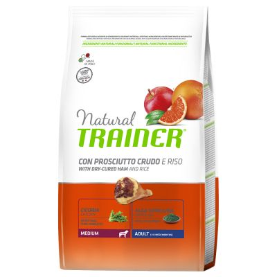 Natural Trainer Medium Adult con Prosciutto Crudo & Riso