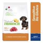 Natural Trainer Sensitive No Gluten Adult Small con Agnello