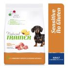 Natural Trainer Sensitive No Gluten Adult Small Maiale