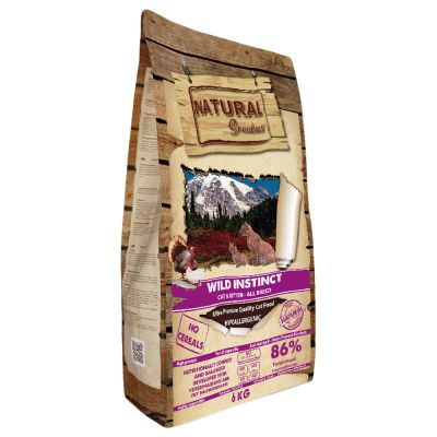 Natural Greatness Wild Instinct con pollo y pavo
