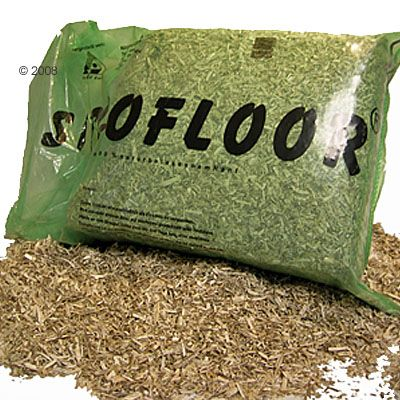 Natural Hemp Bedding Siccofloor