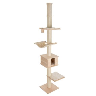 Natural Paradise Ceiling Cat Tree Quadra