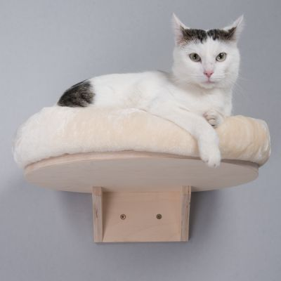 Natural Paradise Wall-Mounted Cat Bed