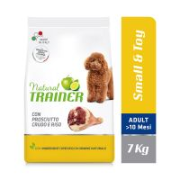 Natural Trainer Adult Small & Toy Prosciutto Crudo & Riso