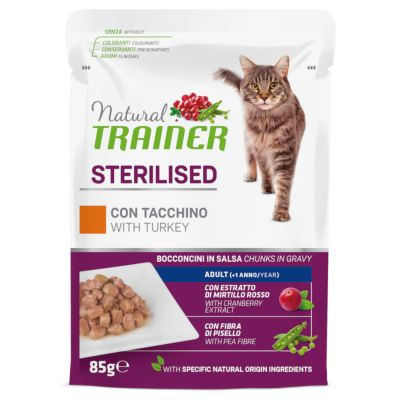 Natural Trainer Adult Sterilised 24 x 85 g