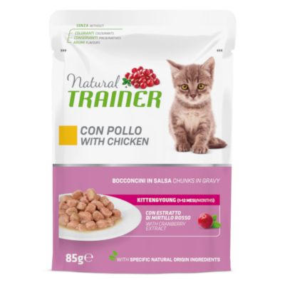 Natural Trainer Kitten & Young 12 x 85 g