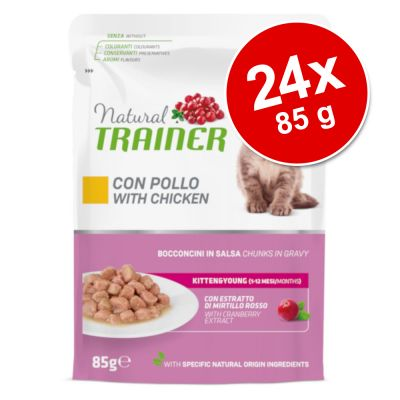 Natural Trainer Kitten & Young 24 x 85 g