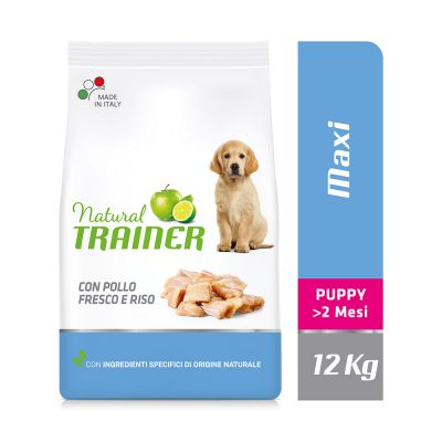 Natural Trainer Maxi Puppy con Pollo fresco