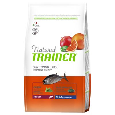 Natural Trainer Medium Adult Tonno & Riso