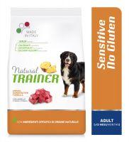 Natural Trainer Sensitive No Gluten Adult Medium/Maxi con Agnello