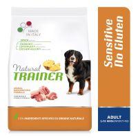 Natural Trainer Sensitive No Gluten Adult Medium/Maxi con Maiale