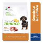 Natural Trainer Sensitive No Gluten Adult Small con Anatra