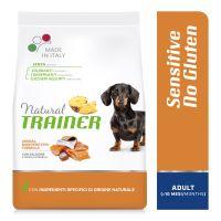 Natural Trainer Sensitive No Gluten Adult Small con Salmone