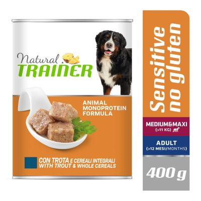 Natural Trainer Sensitive No Gluten Adult 12 x 400 g