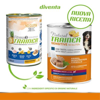 Natural Trainer Sensitive No Gluten Adult 6 x 400 g