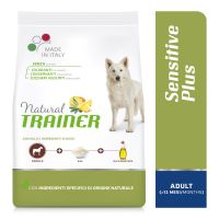 Natural Trainer Sensitive Plus Adult Medium/Maxi con Cavallo, riso e olio