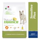 Natural Trainer Sensitive Plus Adult Medium/Maxi con Coniglio, riso e olio