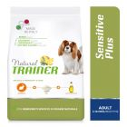 Natural Trainer Sensitive Plus Adult Mini con Coniglio, riso e olio